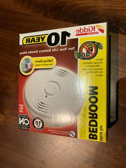 New Kidde 10 Year Talking Voice Smoke Alarm Bedroom P3010B B
