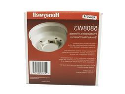 New Honeywell 5808W3 Photoelectric Wireless Smoke / Heat Det