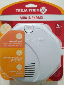 NEW First Alert Dual Sensor Smoke and Fire Alarm Smart Sensi