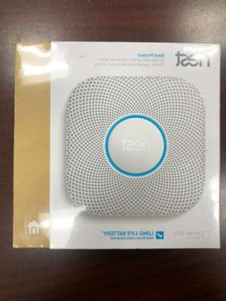 New Nest Protect 2nd Generation Battery Powered Smoke and Ca