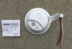New - First Alert Smoke Detector Alarm Hardwired with Backup