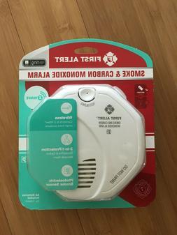 New - First Alert ZCOMBO Z-Wave Smoke & Carbon Monoxide Dete