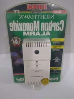 Night Hawk Carbon Monoxide Detector. Brand New Alarm. Plug i