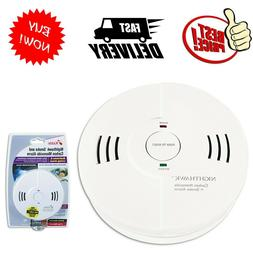 Kidde Night Hawk Smoke and Carbon Monoxide Alarm W Voice War
