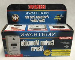 Kiddie Nighthawk Carbon Monoxide Alarm Detector Premium NEW