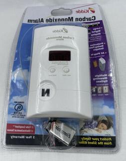 Kidde Nighthawk Plug-In AC/DC Carbon Monoxide Alarm Detector