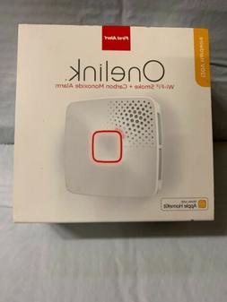 Onelink Wi-Fi Smoke + Carbon Monoxide Alarm, Hardwired, Appl