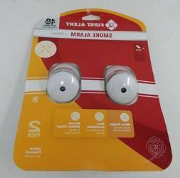 First Alert 1044091 Micro Design Smoke Alarm - 2 Pack