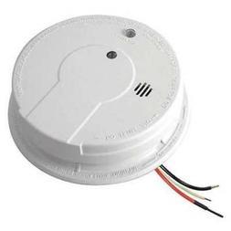 FIREX P12040 Smoke Alarm, Photoelectric, 120VAC, 9V