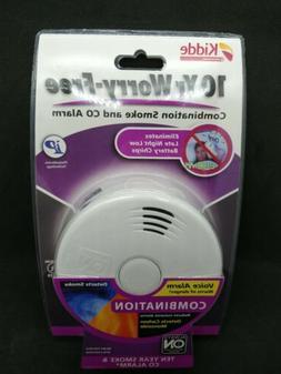 Worry-Free Combination Smoke & Carbon Monoxide Alarm with Li