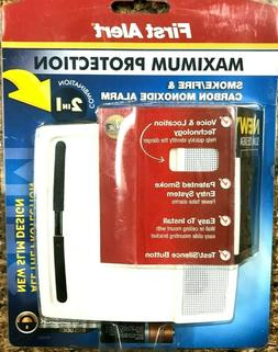 FIRST ALERT PC900V 2-In-1 Smoke & Carbon Monoxide Alarm with
