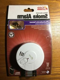 "Kidde Photoelectric Battery Operated 4"" Smoke Alarm P9040"