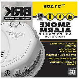 Photoelectric/Ionization Smoke Alarm
