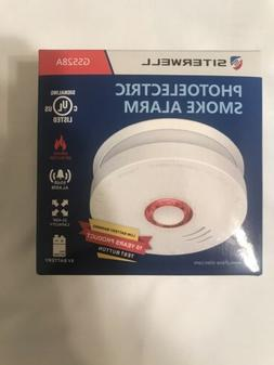 SITERWELL Photoelectric Sensor Smoke Alarm 10 Years Smoke De