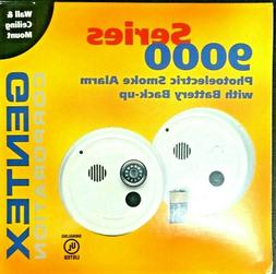 GENTEX PHOTOELECTRIC SMOKE ALARM, HARDWIRED WITH BATTERY BAC
