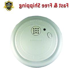 Photoelectric Smoke Fire Alarm 9 Volt Battery Operated Red L