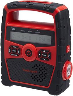 Portable AM/FM Weather Band Clock Radio w/Weather Alert SFA1