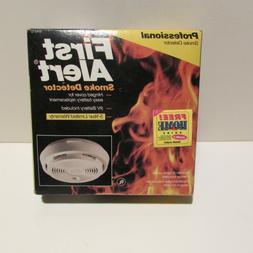 First Alert Professional Smoke Fire Detector Test Switch Sen