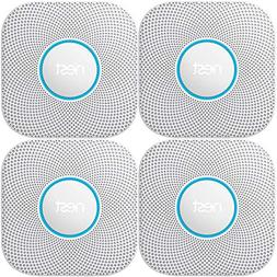 Nest Protect Wired Smoke & Carbon Monoxide Alarm  4-Pack Bun