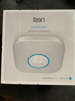 Nest Protect Smoke and Carbon Monoxide Wired Alarm - Brand N