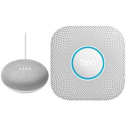 Nest Protect Wired Smoke /& Carbon Monoxide Alarm White 2nd Gen Speaker Chalk