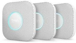 Nest Protect Wired Smoke and Carbon Monoxide Alarm 3-Pack Du