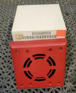 QTY.2 WALL MOUNT HORN RED HG124R GENTEX FIRE ALARM