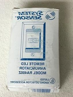 System Sensor Remote LED Annuciator RA400Z Smoke Detector Si