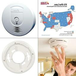 Kidde Smoke Detector, Wireless 9V Battery Powered w/ Ionizat