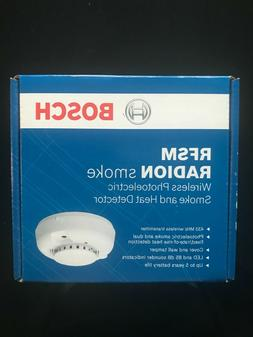 Bosch RFSM RADION Smoke And Heat Detector Wireless