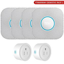 Nest S3003LWES Protect Wired Smoke and Carbon Monoxide Alarm