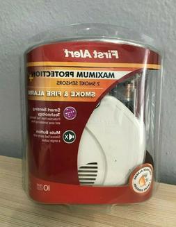 First Alert SA320CN Dual-Sensor Smoke and Fire Alarm, Batter