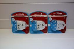 Set of 3 First Alert CO400 Carbon Monoxide Detector, White -