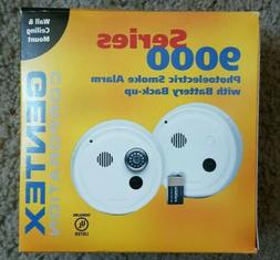Smoke Alarm, 120 VAC, Photoelectric, Battery Back up, Gentex