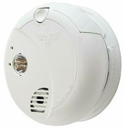 BRK Smoke Alarm, 120V Hardwired Photoelectric w/ Battery Bac