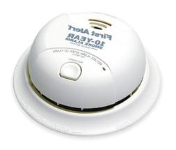 First Alert Smoke Alarm, 9V 10Year Lithium Battery Powered w