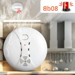 SMOKE ALARM Battery Operated Sensor Home Fire Safety Detecto