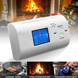 Smoke Alarm Carbon Monoxide CO Alarm Detector Monitor Gas Wa