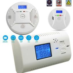 Smoke Alarm Carbon Monoxide CO Alarm Detector Monitor Gas Wa