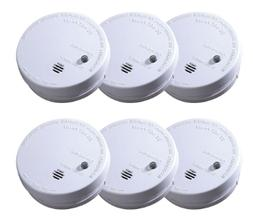 Smoke Alarm Detector Battery Sensor Fire Home First Alert In