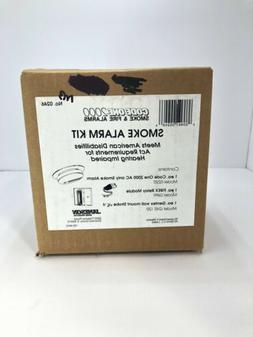 Code One 2000 Smoke Alarm Kit With Strobe