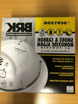 SMOKE AND CARBON MONOXIDE ALARM WIRED WITH BATTERY BACKUP -