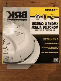 BRK Smoke & Carbon Monoxide Combo Alarm, Battery-Operated