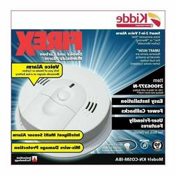 kiddeSmoke and Carbon Monoxide Detector Alarm With Voice M