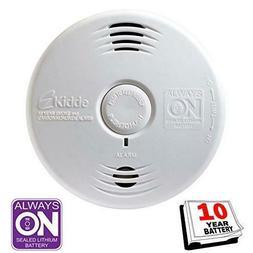 Smoke and Carbon Monoxide Detector Alarm w/ Voice Warning Ha