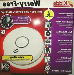 Kidde Smoke and Carbon Monoxide Detector with Voice Alerts