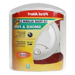 First Alert Smoke and Fire Alarm Plus Maximum protection 10