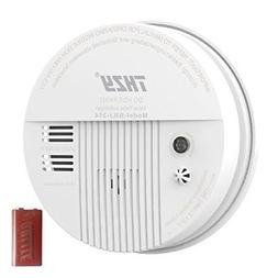 Smoke  Carbon Monoxide Alarm, THZY Battery Operated Carbon M