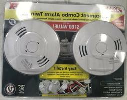 Kidde Smoke/Carbon Monoxide Combo Detector Hardwired 120-Vol
