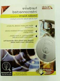 Kidde Smoke Detector, Wireless 120V Hardwired w/ Battery Bac